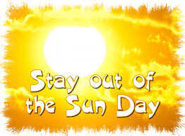 July 3 - Stay out of the Sun Day | National holidays, Day, Mario ...