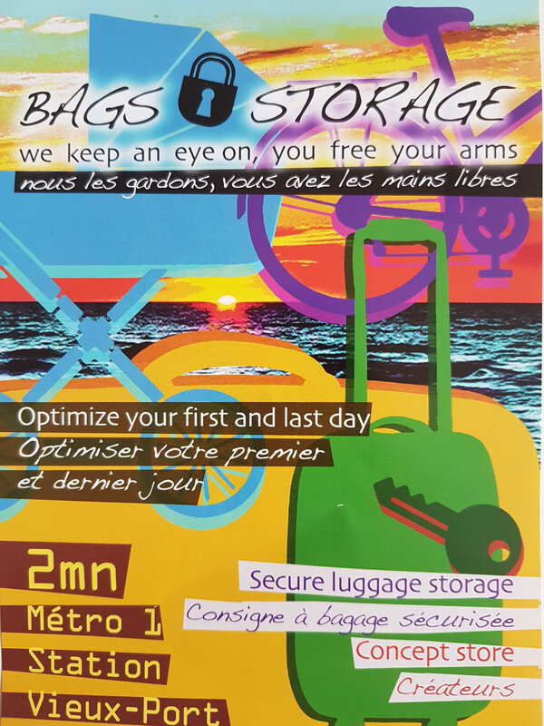flyer Bags storage