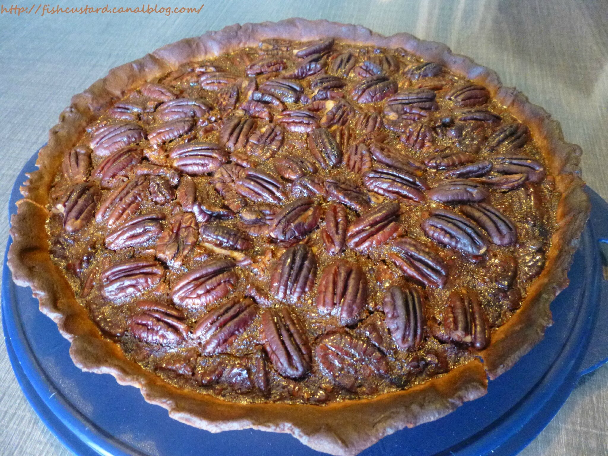 Pecan pie (tarte aux noix de pécan)