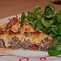 Tartes salées: tarte à la bolognaise (ultra rapide)