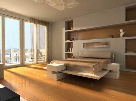 Chambre Design Blanc Beige Photo De Chambres Design Deco