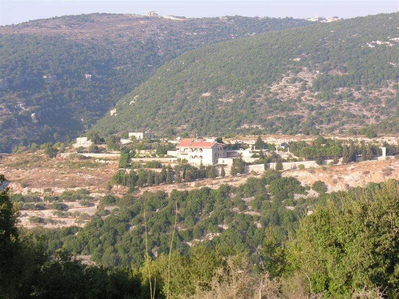 La montagne libanaise.