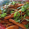 Salade de carottes épicées