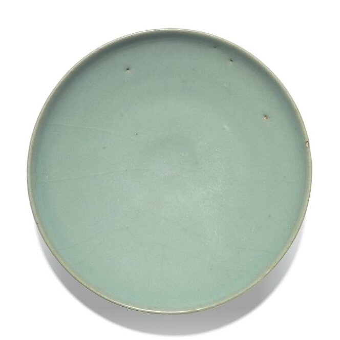 A green 'Jun' dish, Song dynasty