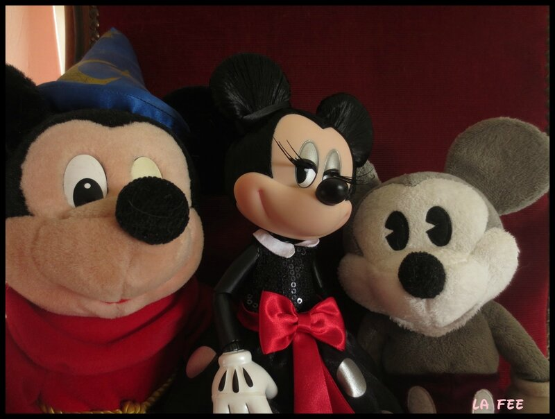 minnie et ses admirateurs