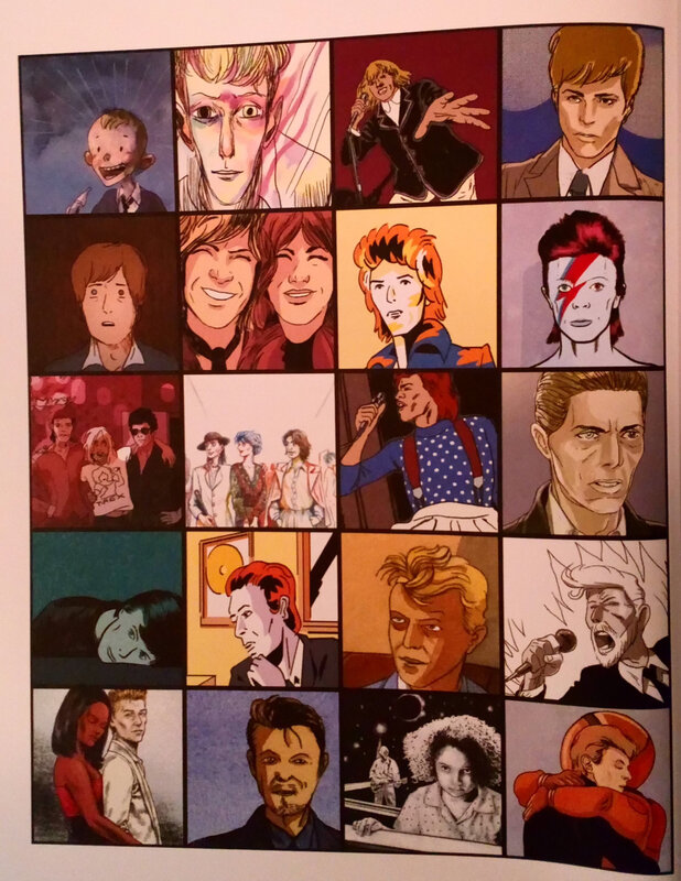 Collectif_David Bowie en BD-1