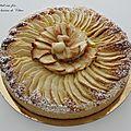 Tarte pommes et crème d'amande