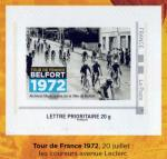 Timbre Belfort Tour de France 1972