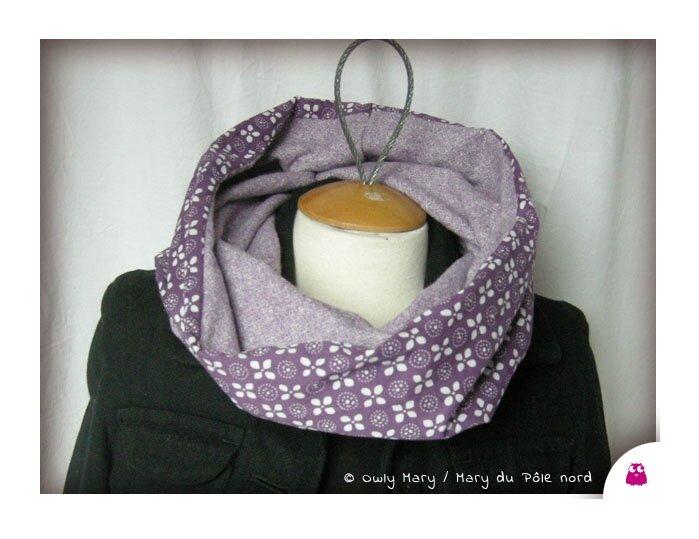 les dernières nouveautés photos officielles grande remise pour PH2013_10_17-033-tour-de-cou-double-snood-echarpe-foulard ...