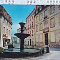 Confolens - ancienne fontaine