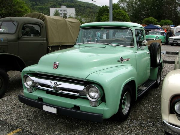 ford f100 1956 a