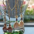 Perles d'eau douce et swaro