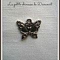 Breloque papillon