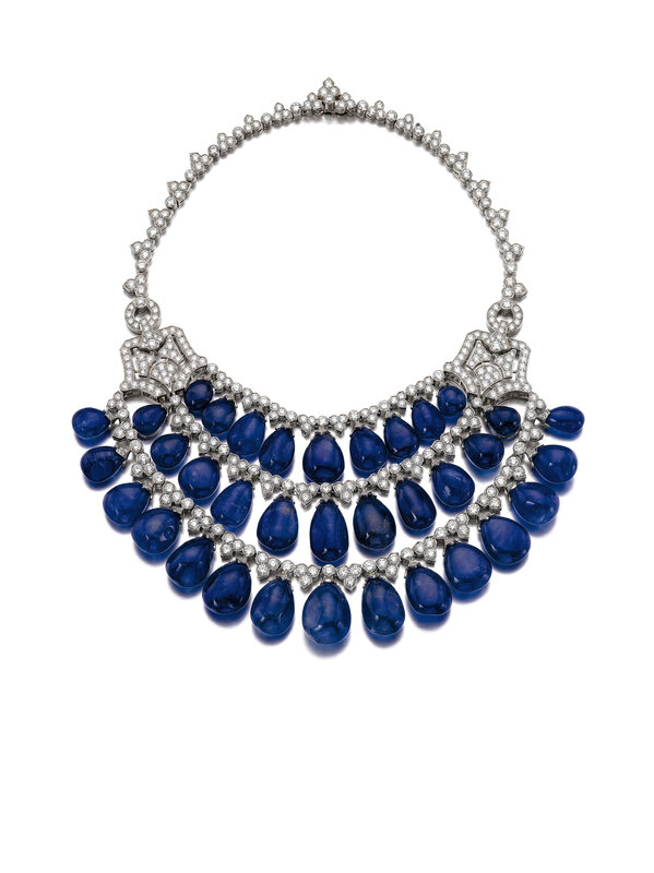Sapphire and diamond necklace - Bulgari - Magnificent Jewels and Noble Jewels Sotheby's Geneva 13 nov 2019