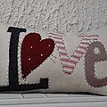 Challenge st valentin, coussin 3