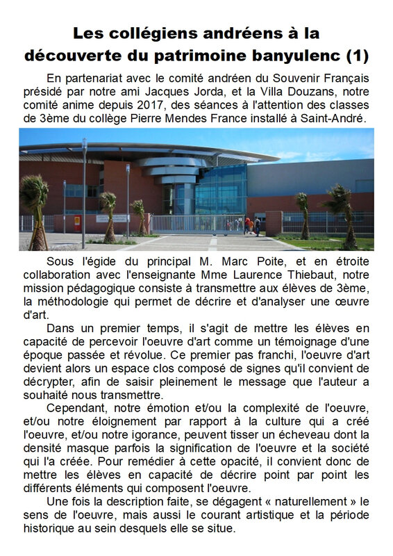 Article - Scolaires - Page 1