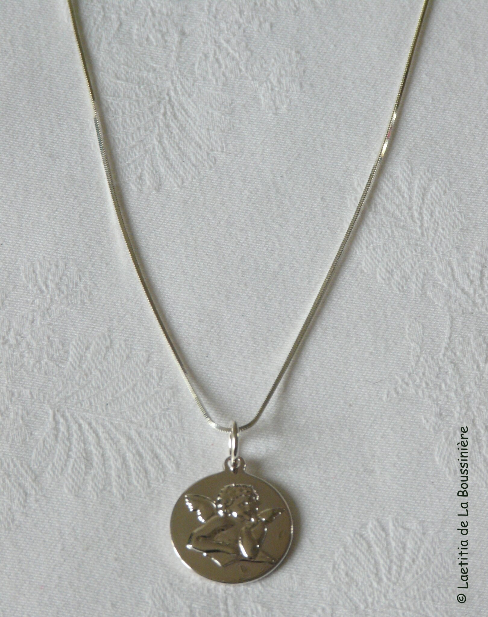 Collier médaille d'Ange