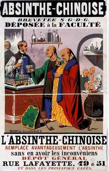 Absinthe chinoise