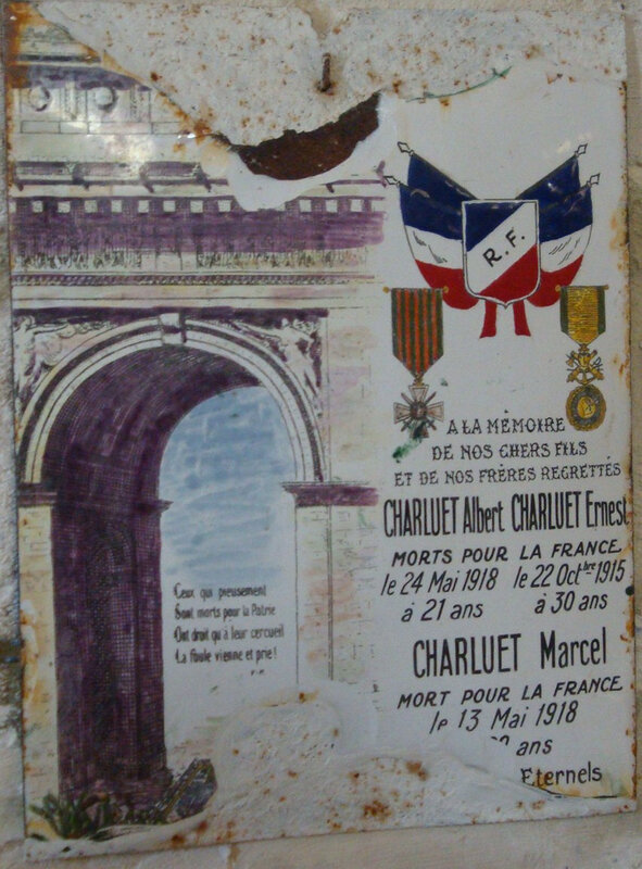 Paulnay 14-18 (7) église