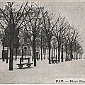 Pau place royale carte postale ancienne