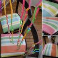 chaises relookées