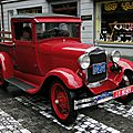 Ford model a pickup truck-1929