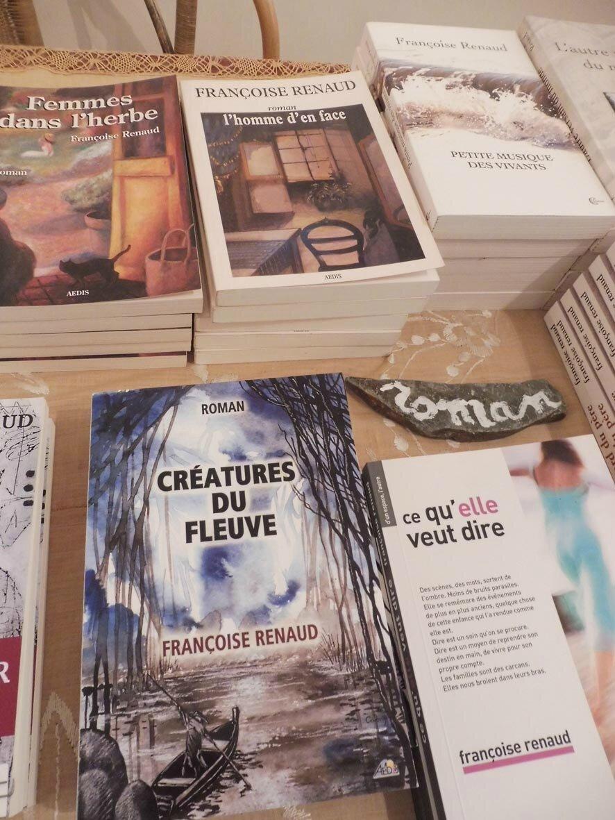 Les livres de Françoise Renaud