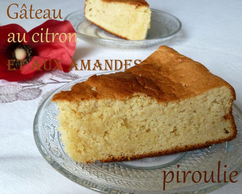 Gateau Moelleux Au Citron 2 Gateau De Clea A La Creme D Amande