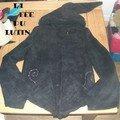 veste fée noire
