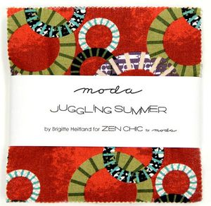 Juggling summer Charm pack