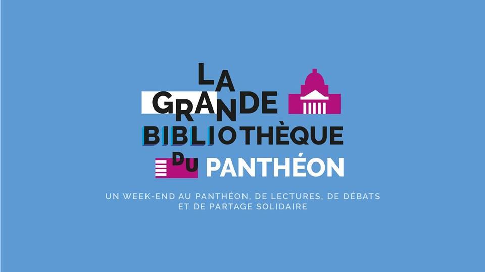 Week-end de lectures, de débats et de partage solidaire au Panthéon