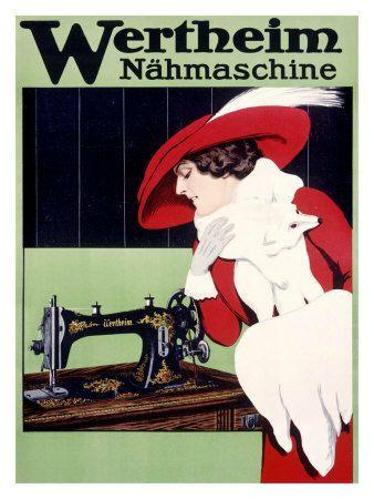 Affiches machines à coudre (7)