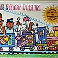 Livre collection ... le petit train (1973) * livre en relief pop-up