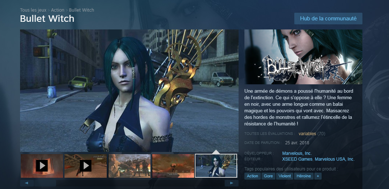 Bullet Witch Steam