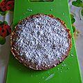 Gâteau amandier sans gluten, sans lait