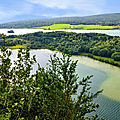 La région des lacs du jura