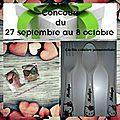 Concours du 27 septembre au 8 octobre 2017
