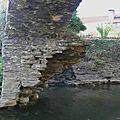 Restauration du pont du xve siècle de saucède - 2016