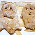 Des pains et des brioches pour halloween