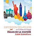 The international expo of les ateliers de puteaux