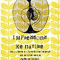 Impressions de nature