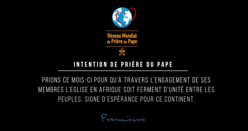 Intention du Pape - mai 2019