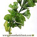 molucella feuilles artificielles www.coeurdartichaut.com