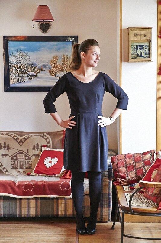 Robe Bordeaux Romanne Couture 6
