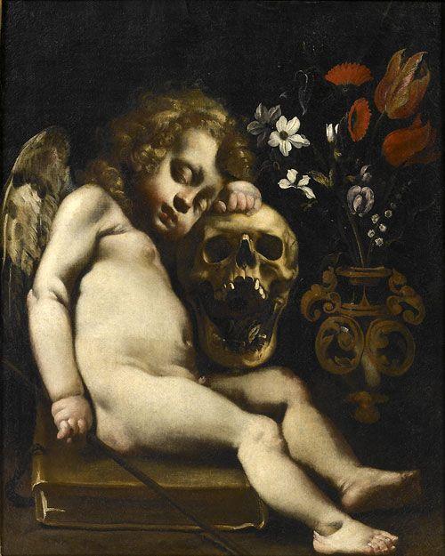 Luigi Miradori (dit Genovesino), Cupidon endormi, vers 1652, Museo civico Ala Ponzone, Cremona © Sistema Museale della Città di Cremona - Museo civico Ala Ponzone, Cremona