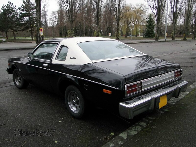 plymouth volare premier special edition coupe 1976 1977 b