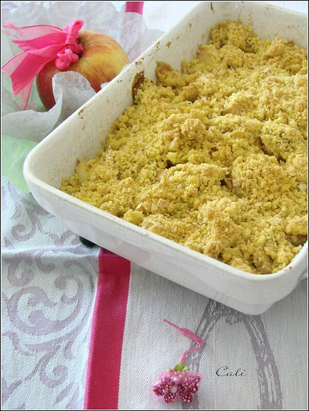 Crumble de Fruits Doré au Curcuma 001