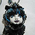 Art doll Gothique