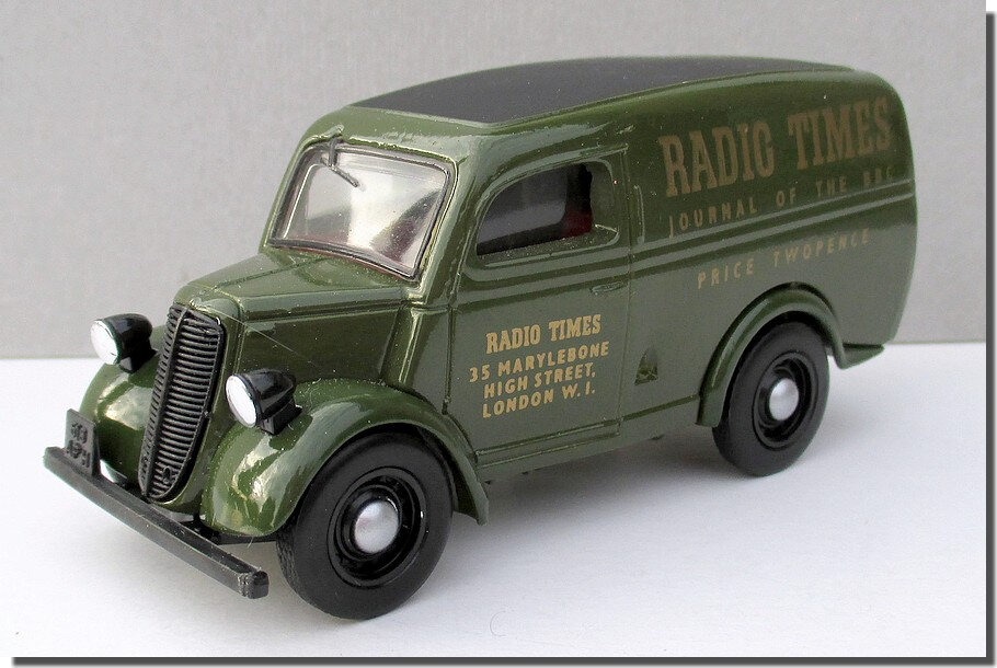 Dinky Matchbox DY-4 Ford E83W Radio Times A 1