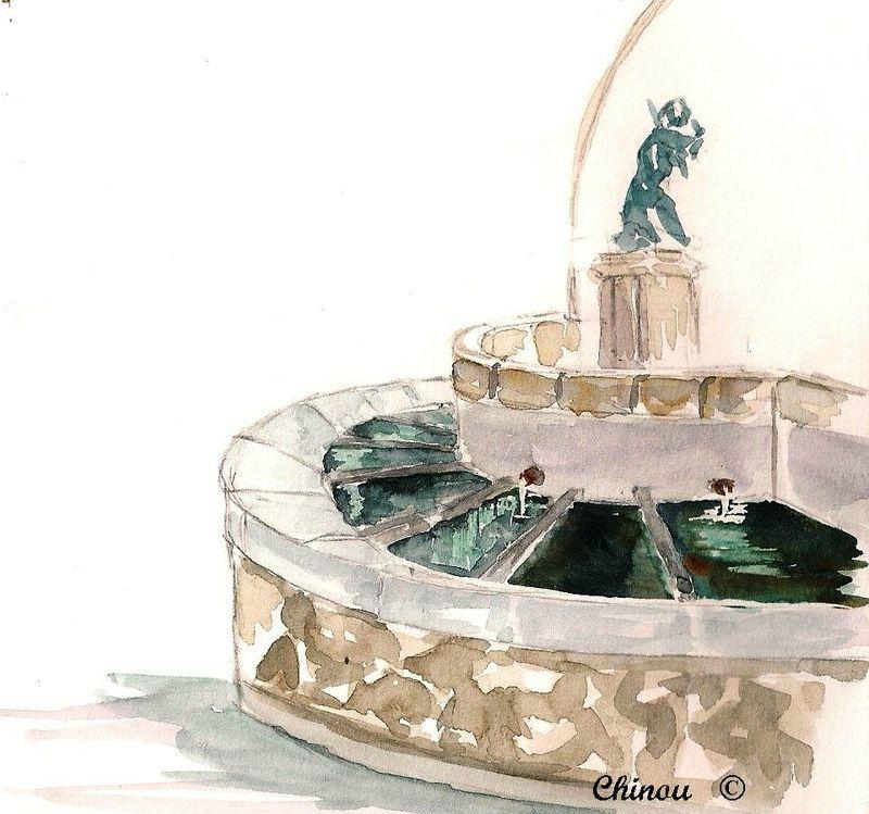Saint Paul de Jarrat : Fontaine
